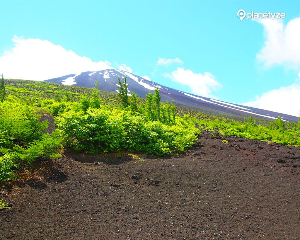 """Ochudo was once known as """"the road which will only allow climbers who have scaled Mt. Fuji more than 3 times""""."""