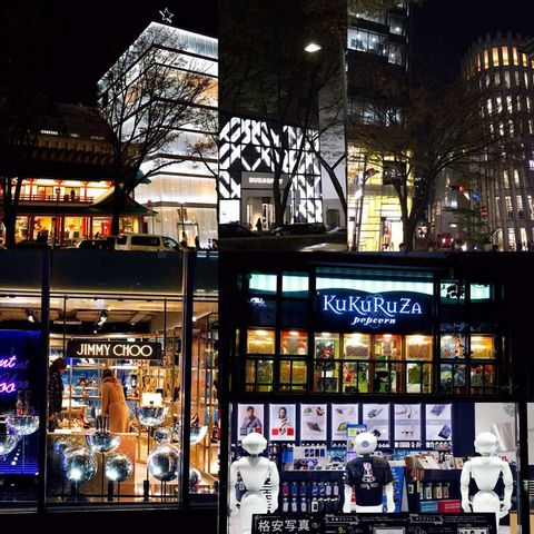 Window shopping  is more fun at night!