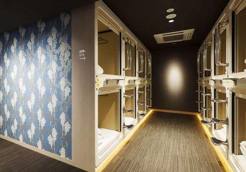 Stylish capsel hotels