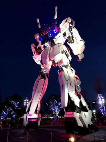 Gundam warrior robot save the world ?