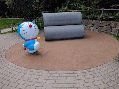 Fujiko manga museum .    Fujiko is a famous manga artist, his popular manga is Doraemon