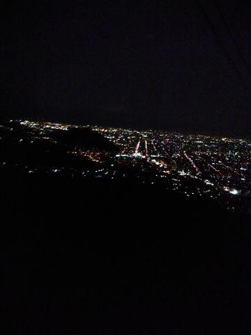Mt. Moiwa, the Night View