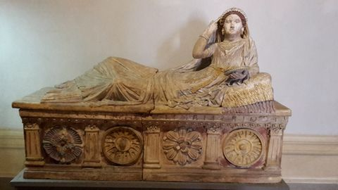 Etruscan Women in Art