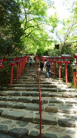 Kifune Jinjya Shrine and Kurama-dera Temple