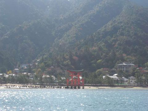 Miyajima and A Bomb Dome (Two different perspectives of World Heritage in Hiroshima )