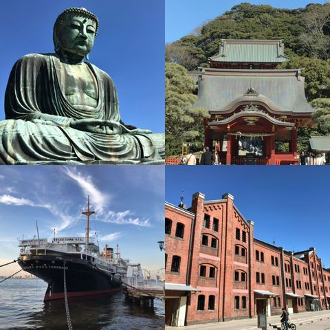 One Day Tour to Yokohama & Kamakura - 2 Historic Cities for Eager Travelers