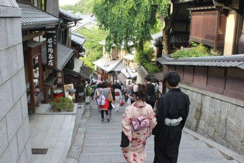 Kiyomizudera(Kiyomizu Temple) and kawai kannjirou Memorial house and Sanjyusangendou