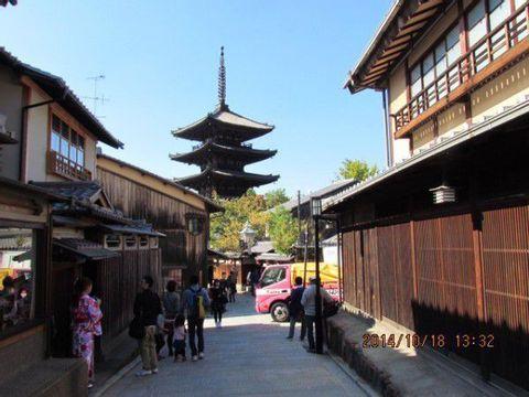 Kyoto Higashiyama (Kiyomizu Temple, Yasaka Shrine, Nishiki Market)