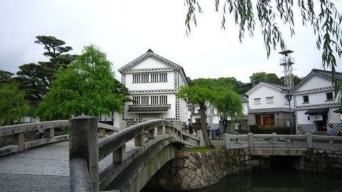 Quiet one day trip of Kurashiki Bikan historical area