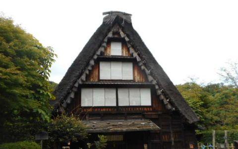 Minkaen:Japan Open Air Folk House Museum-Houses from Samurai days & Shinjuku's Twilight View etc.