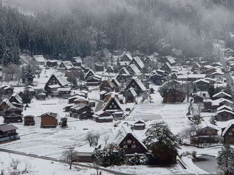 Two days Door to D Tour of Takayama, Shirakawa-Go from Tokyo