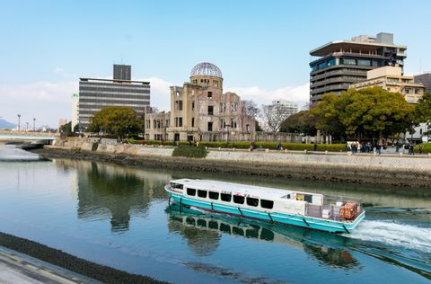 Hiroshima Port 3-Hour Tour with a Private Car