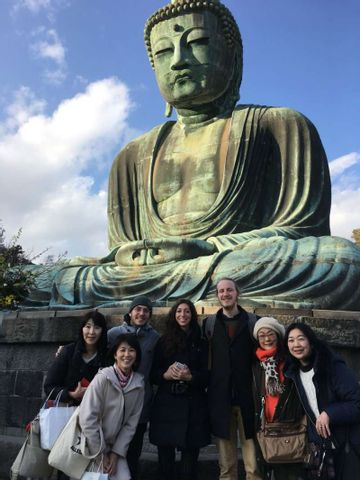 Temples and flowers' tour in Kamakura