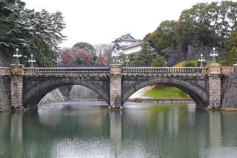 Walking along the Imperial Palace