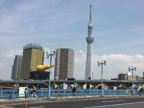 Half day tour in Asakusa and Tokyo Skytree