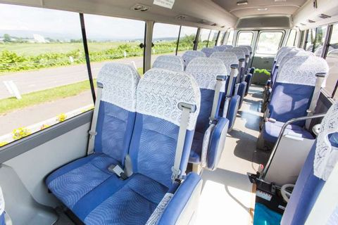 Private Transfer between New Chitose Airport and Your Hotel in Noboribetsu  (Up to 15 passengers)