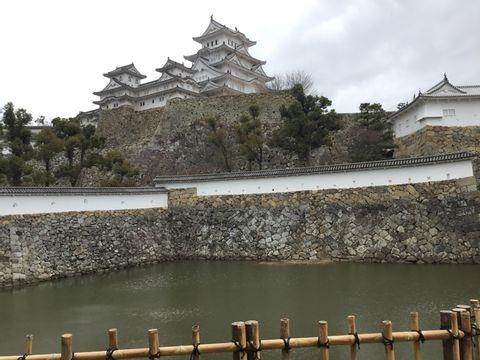 One day tour of Himeji castle and Kobe Rokko mountain