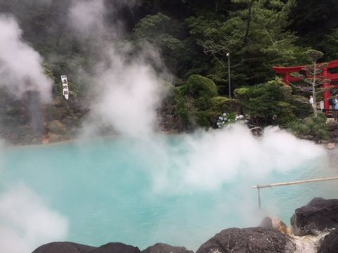 Hot Springs and A Natural Monkey Mountain Park