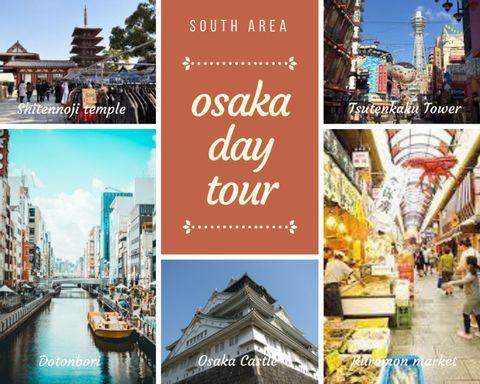 South Osaka area 1 day tour