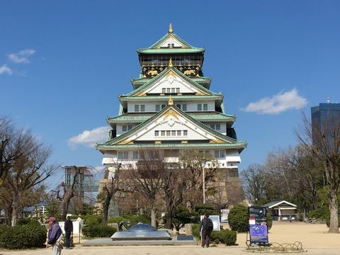Full-Day Private Guided Tour to Osaka Palaces and Temples