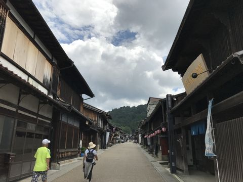 Nostalgic Japan in Iwamura,Gifu : Castle town of Lady Samurai & magnificent Ruins