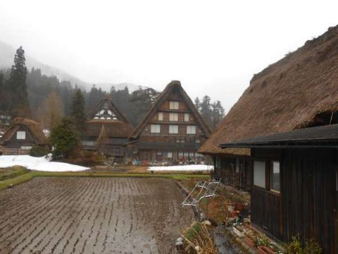 UNESCO World Heritage site Gokayama & Shirakawago tour