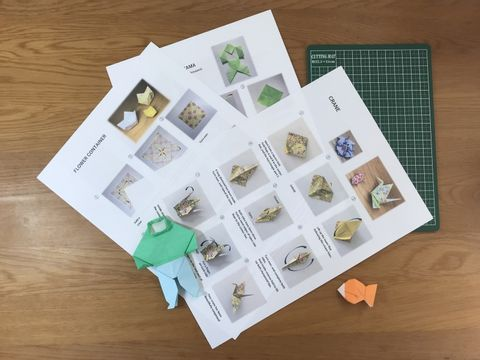 Japanese Gardens and Origami Workshop in Central Tokyo