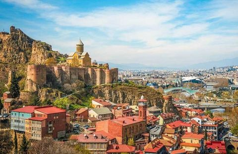A Warm and Friendly City of Old Tbilisi