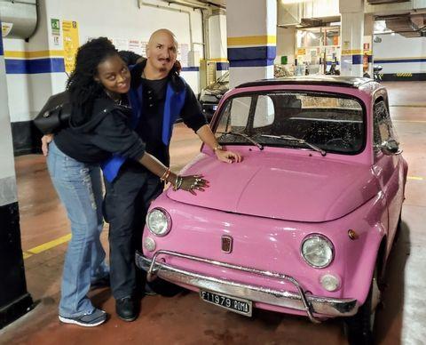 The 7 Hidden Gems of Rome Tour In a antique FIAT 500