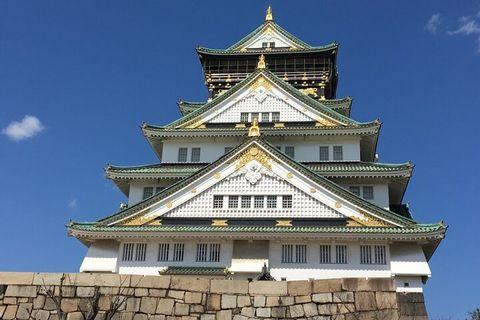 Visite Guidée Privée d'une Demi-journée du Château d'Osaka
