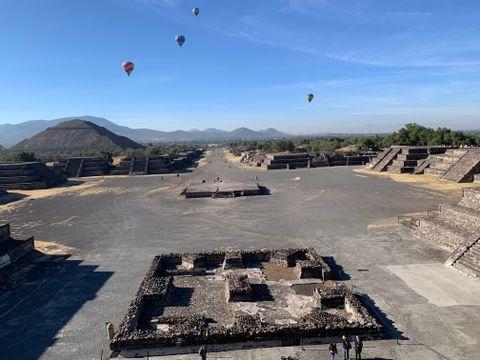 Impressive Pyramids of Teotihuacan