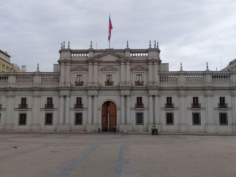Walking tour through the historic area of Santiago