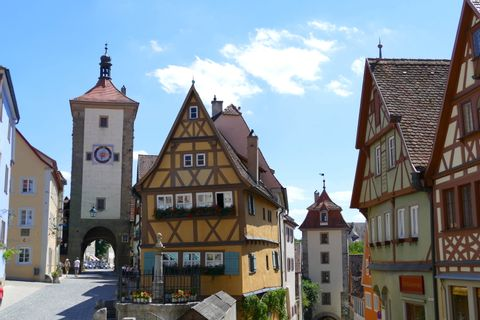 Rothenburg & Romantic Road Private Day Tour from Munich