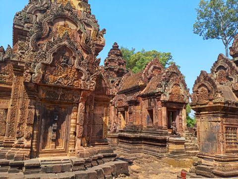 Kbal Spean, Banteay Srei and Banteay Samre