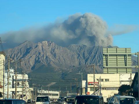 Feel Energy and Life on Mt.Sakurajima