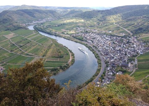 Excursion to the beautiful Moselle Valley