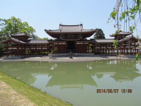 UJI  BYODOIN with PHOENIXES,  TEA CEREMONY、and MANPUKU-JI TEMPLE
