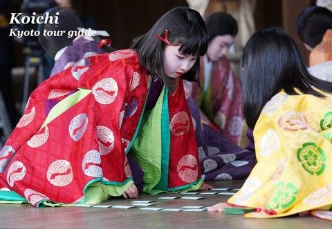Traditional card game play held on 3 January