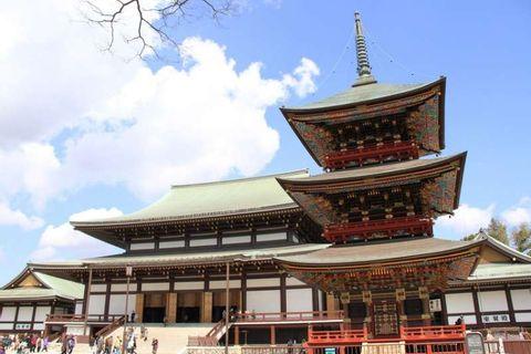 Naritasan Shinshoji temple before your flight