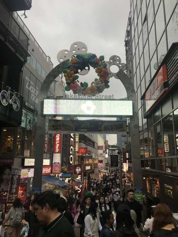 Excursão 3 (Harajuku, Omotesando, Meiji-zingu, Shinjuku, Shibuya)