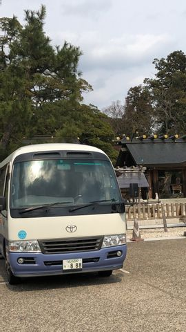 Kansai International Airport and your hotel in Kyoto,Nara,Kobe by private car or bus (1-45 pax)