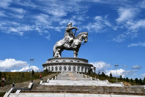 A Day Trip to the Chinggis Khan Statue and Terelj Park