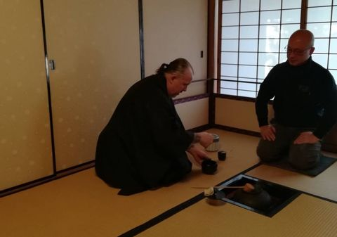 VIRTUAL JAPANESE TEA Ceremony - Inc kit & utensils