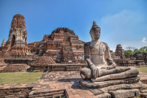 Day Trip to Ayutthaya from Bangkok-Temples