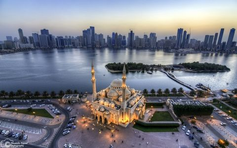 Sharjah and Ajman Half-day Private  Tour from Dubai