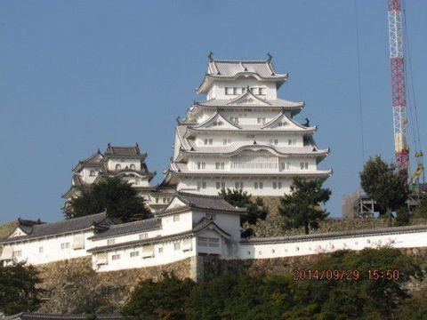 Himeji Castle, The Set of The Last Samurai or Engyoji Temple