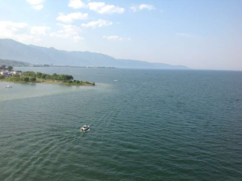 My home town, Shiga, next to Kyoto. I'ts famous for the Japan's biggest lake, Biwa. You can easily get there from Kyoto and enjoy a variety of outdoor activities.