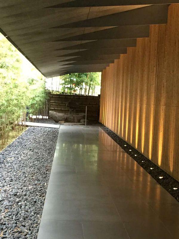Nezu Museum at Aoyama area