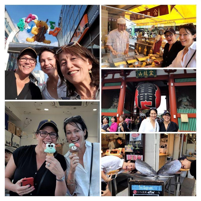 Fun in Tsukiji, Asakusa, and Hajajuku!