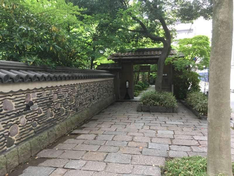 Rakusuien (A Japanese garden for enjoying Hakata merchant chic and tea ceremonies)
